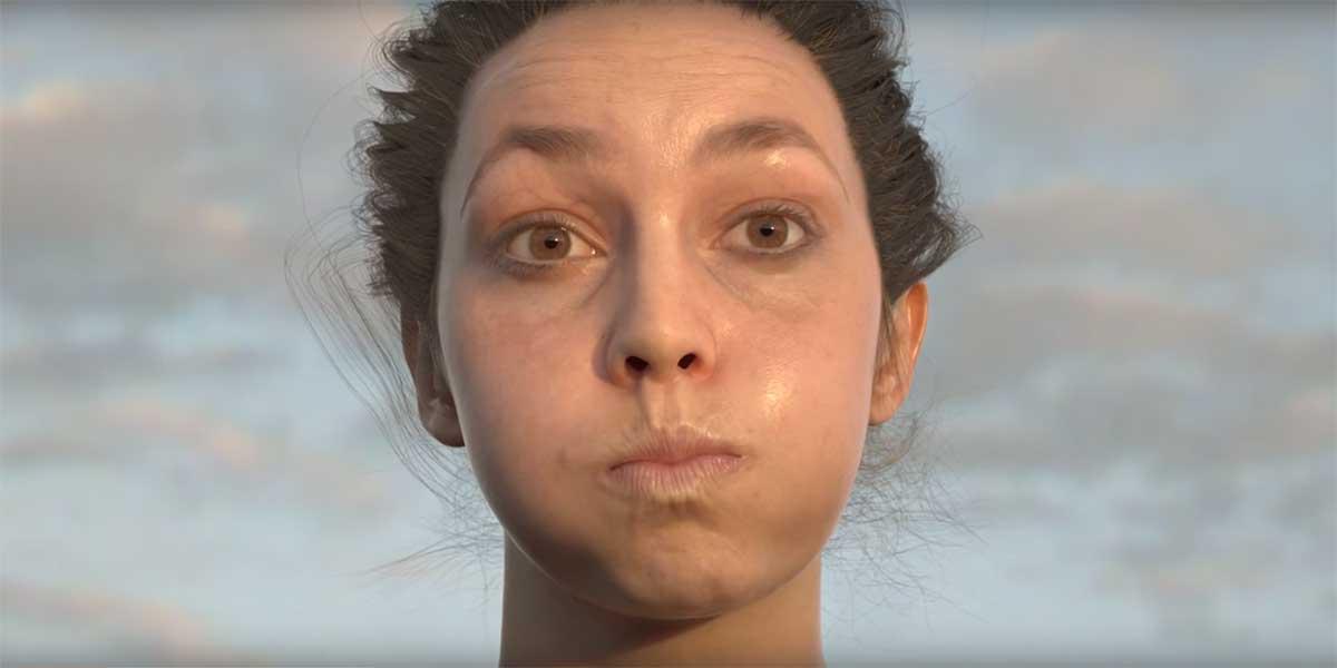 Beeindruckende Grafikdemo: Ultra-Realistische Gesichter auch für Virtual Reality