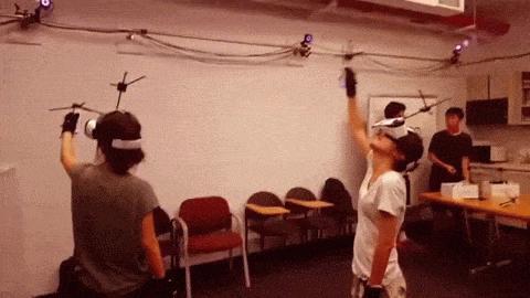 Holojam von der New York Universität: Virtual-Reality-Kunst gibt Ausblick auf unsere Zukunft.