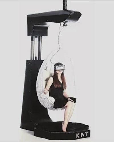 KatVR - ein neues Laufband für Virtual Reality erfolgreich bei Kickstarter finanziert.