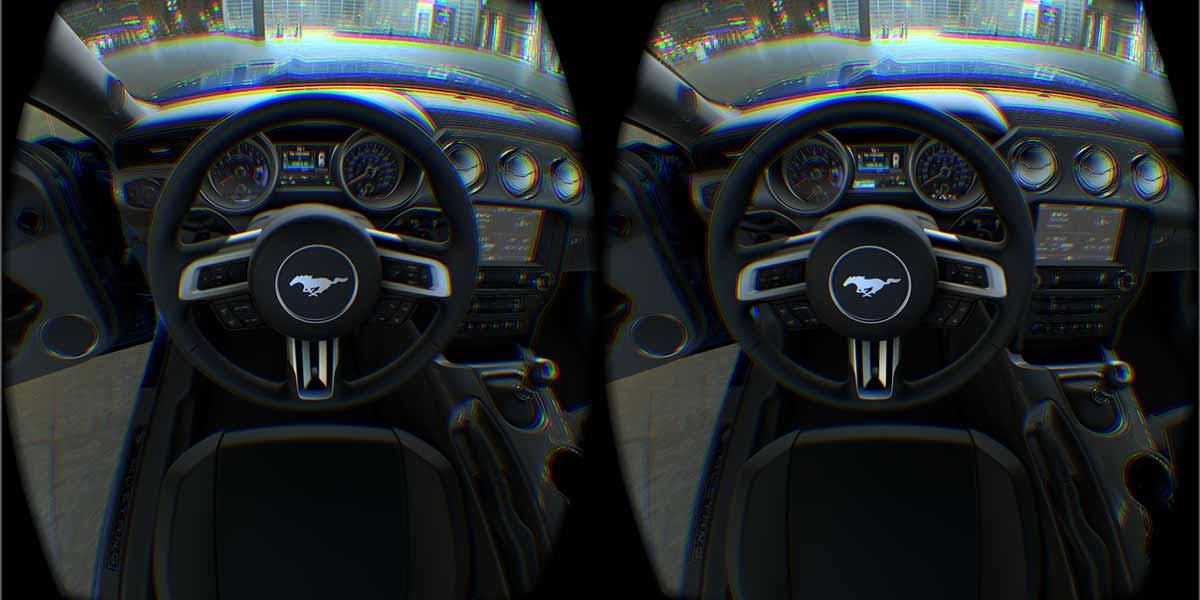 Virtual Reality wird bei Ford eingesetzt, um das Design von neuen Autos vorab zu testen.