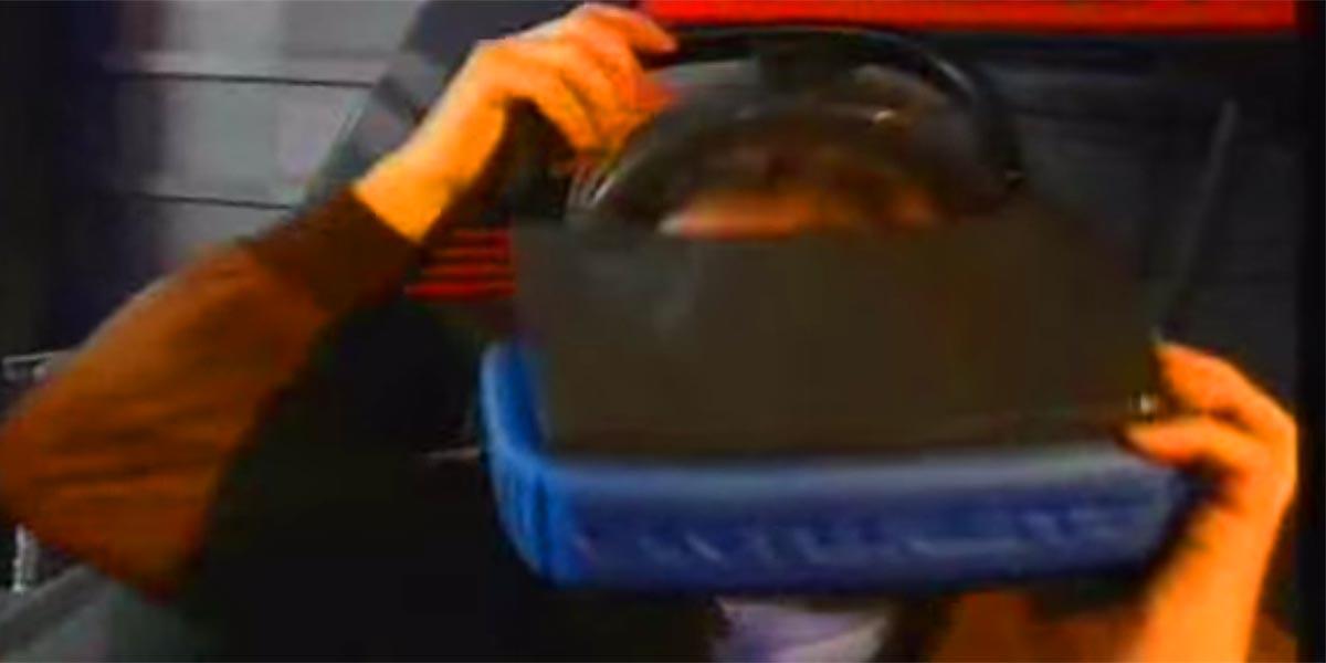 Virtual-Reality-Arcade in den 90ern