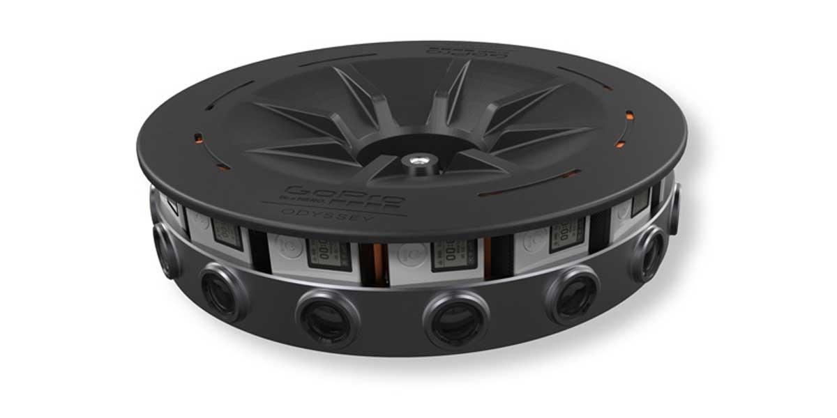 Odyssey: 360 Grad Kamera von GoPro