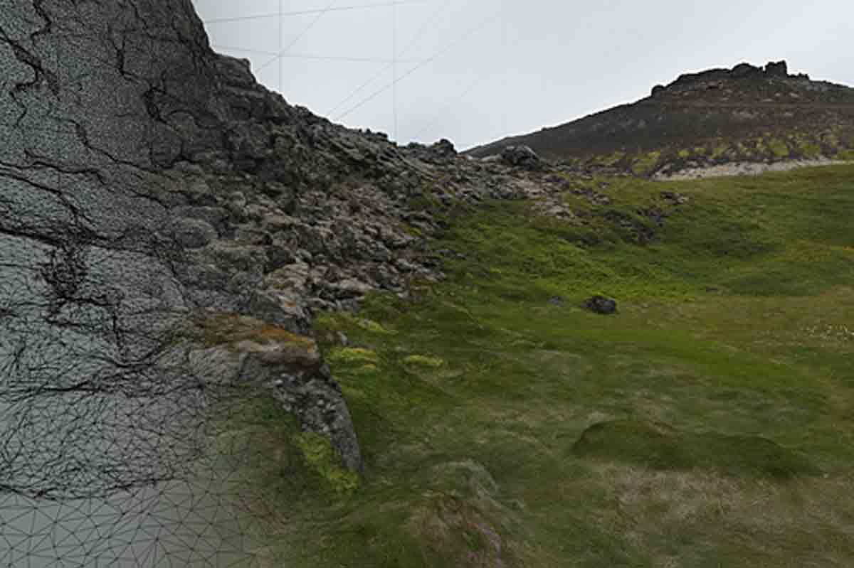 Mit Photogrammetrie VR-Umgebungen aus Fotos für HTC Vive rendern