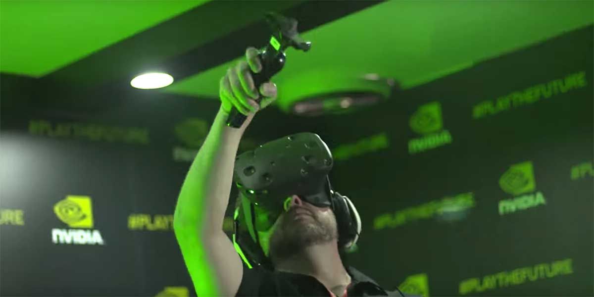 Nvidia glaubt an den Erfolg der VR-Brille und investiert langfristig. Der PC soll für den Anfang die optimale Plattform sein.