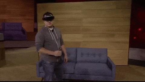 Hololens Controller - Hologramm-Handschuh für Games