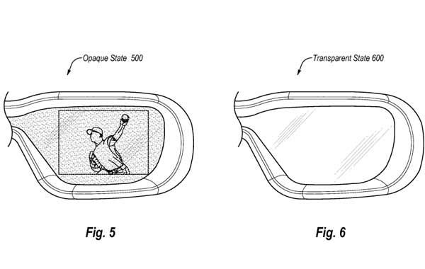 Datenbrillen-Patent von Amazon: Verschiedene Transparenz, je nach Anwendungsfall