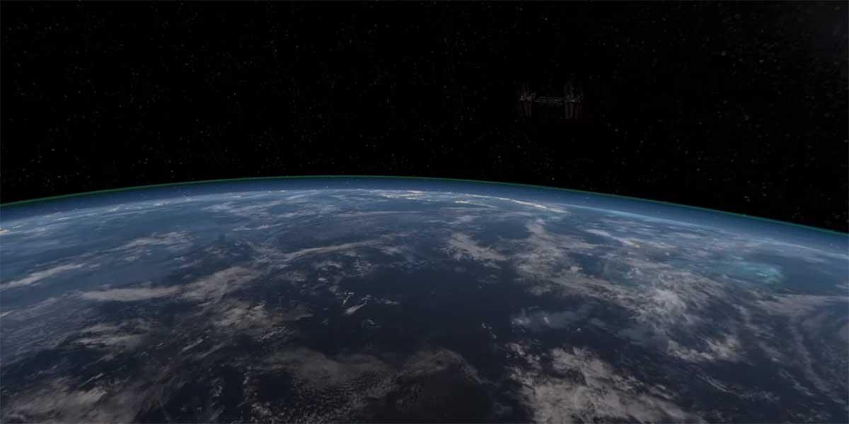 Die Astronauten-Sim EarthlightVR erscheint 2016 für Virtual Reality.