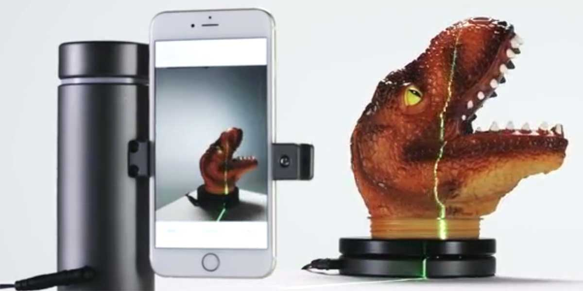 Smartphone-3D-Scanner bei Kickstarter: Auch für Virtual Reality interessant