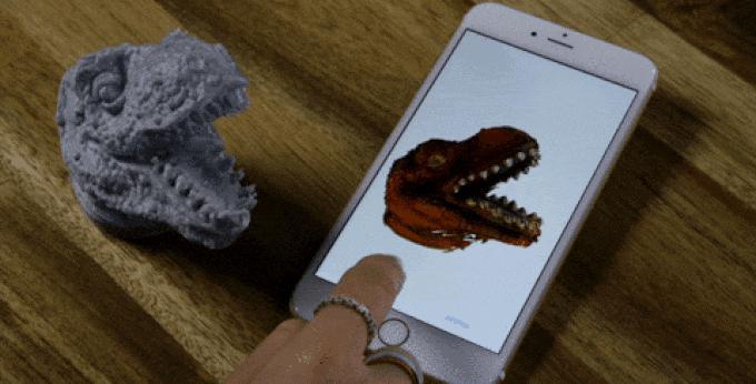 Der 3D-Scanner von EORA: Potenziell macht er User Generated Content für Virtual Reality möglich.