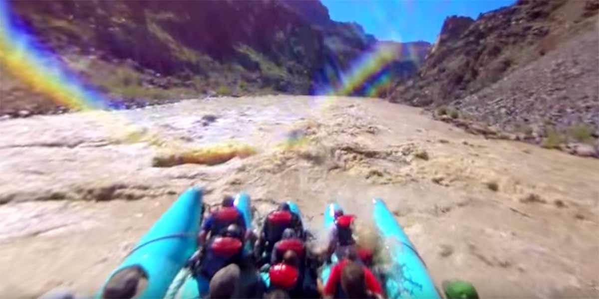 360-Wildwasser-Tour durch den Grand Canyon in 4k