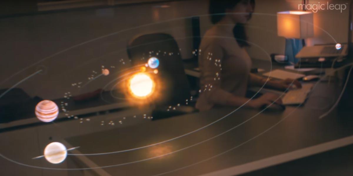 Neue Magic-Leap-Demo - Mixed Reality im Büro
