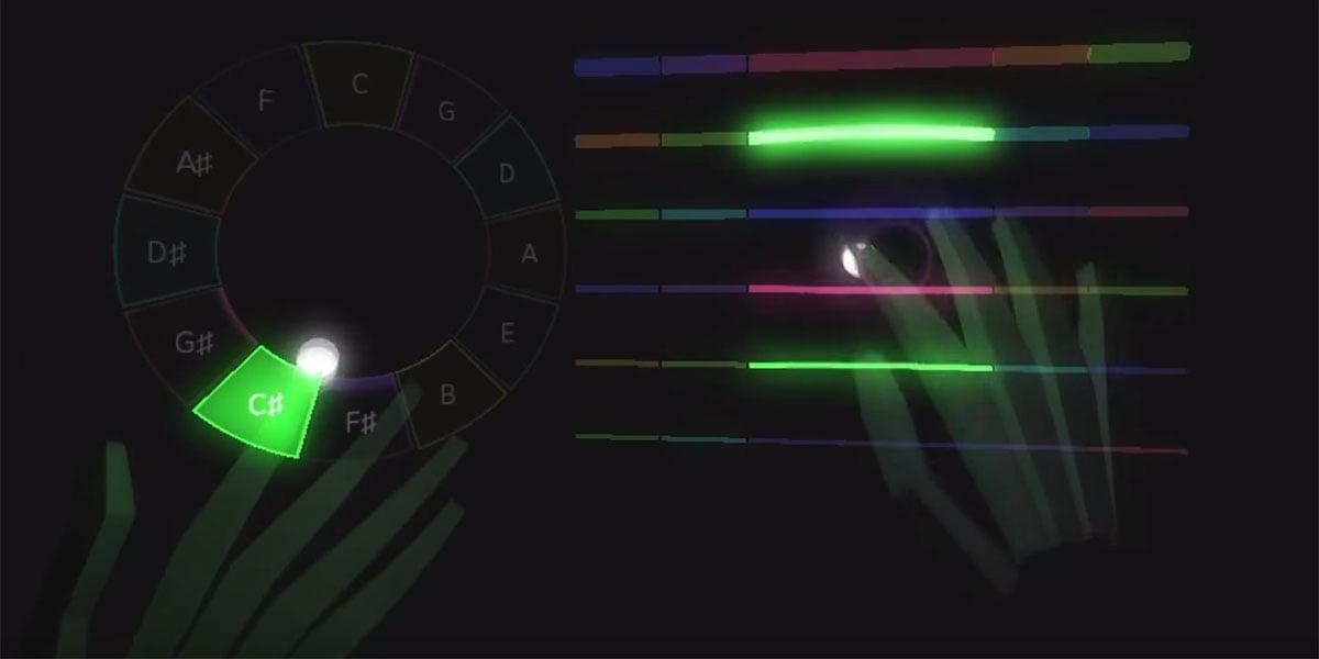 Das erste Instrument, das nur in der virtuellen Realität gespielt werden kann.