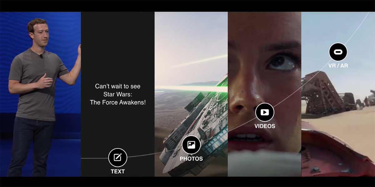 Zuckerberg ist fest davon überzeugt dass Virtual Reality die nächste große Sache wird.