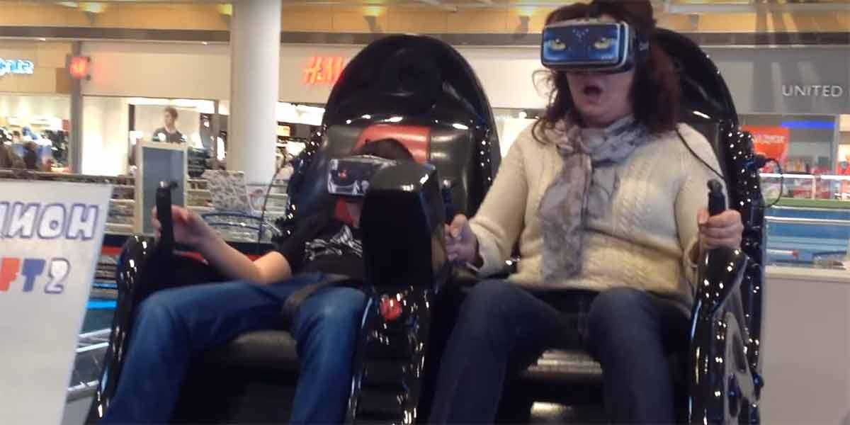 """Kann es etwas geben wie """"zu viel Immersion""""? Der geneigte VR-Enthusiast widerspricht spontan, könnte es sich nach diesem Video aber anders überlegen..."""