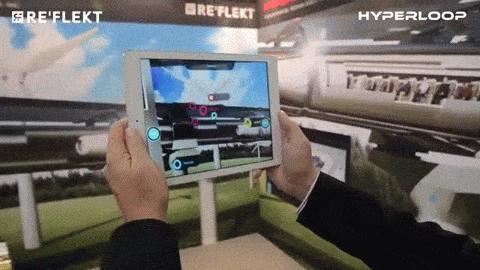 Der Hyperloop ist ein interessantes, aber erklärungsbedürftiges Stück Technologie. Ein Erkläransatz: Augmented Reality