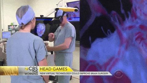 Chirurgen trainieren mit Virtual Reality