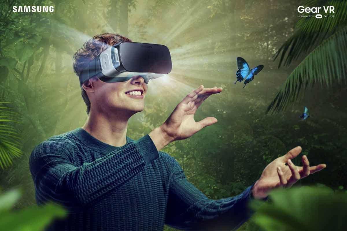 Gear VR: Samsungs VR-Brille im Test.