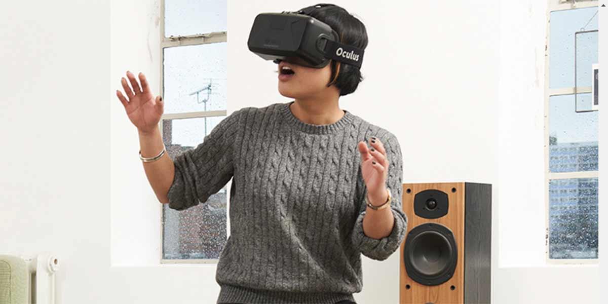 Virtual-Reality-Hocker funktioniert auch als Controller