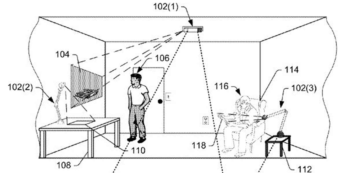 Amazon: Neues Augmented-Reality-Patent aufgetaucht