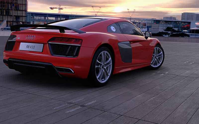 Beinahe fotorealistisch: Man muss schon genau hinsehen, um zu erkennen, dass das kein echtes Auto ist.