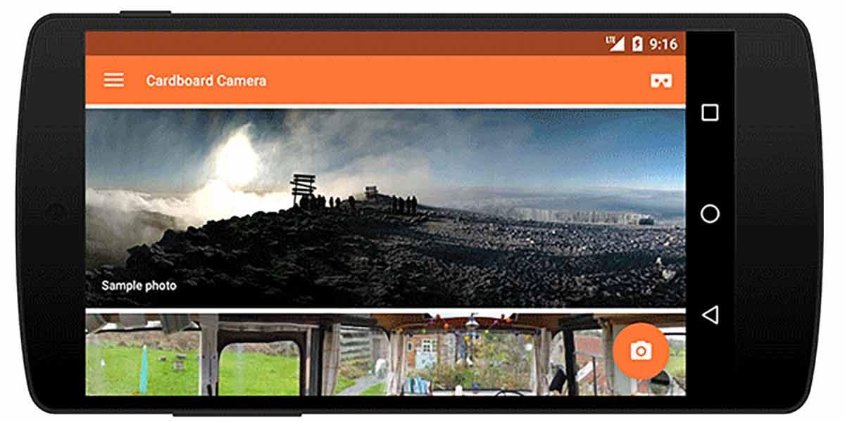 Googles Kamera-App für Cardboard nimmt 360-Bilder mit stereoskopischem 3D-Effekt auf. Die App ist jetzt auch für das iPhone verfügbar.