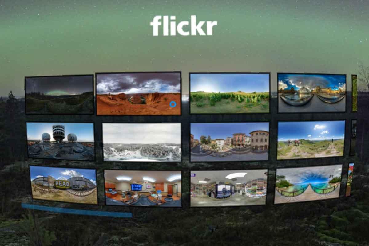 Flickr VR-App für Gear VR ist ab sofort kostenlos im Oculus-Store verfügbar.