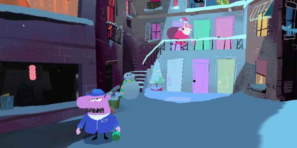 Virtual-Reality-Weihnachtsgeschenk von Google
