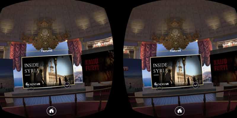 Review der Jaunt VR App für Samsung Gear VR