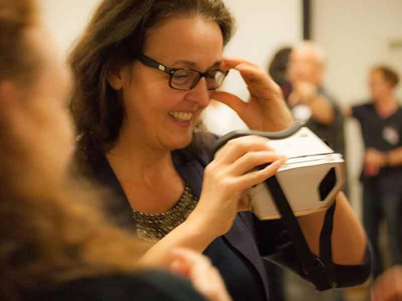 Astrid Kahmke: Ab in die virtuelle Realität.