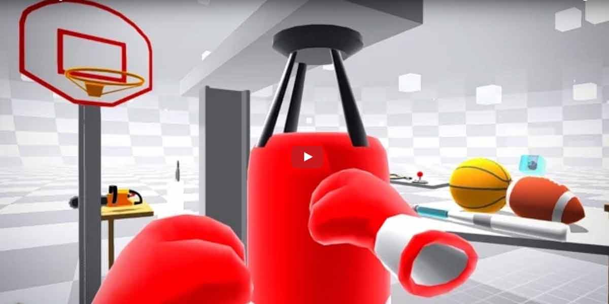 Kreative Herausforderung in Virtual Reality: Bei Modbox entwirft man sein eigenes Spiel.