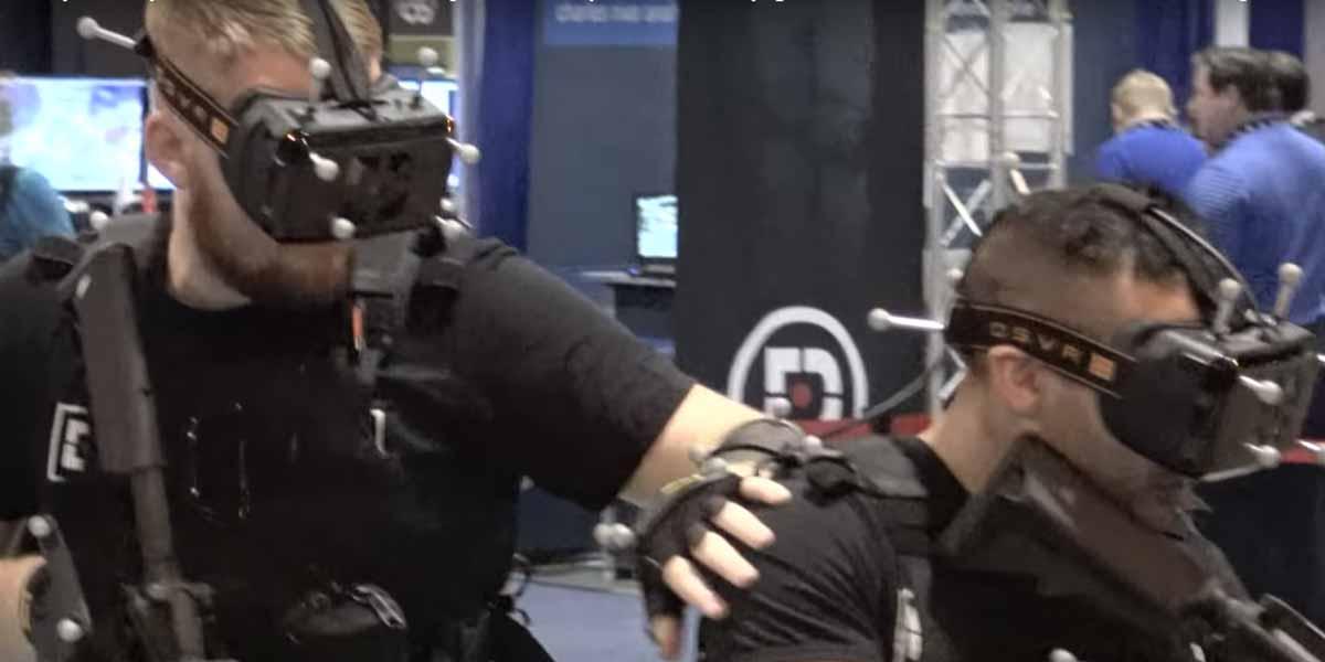 Virtual Reality im Einsatz für das Training von Soldaten und Spezialeinheiten