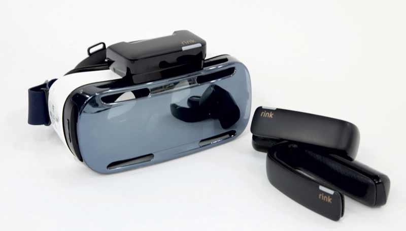 """Samsungs """"Kreativlabor"""" zeigt ein neues Interface für Virtual Reality, das die eignen Hände in die virtuelle Realität bringt."""