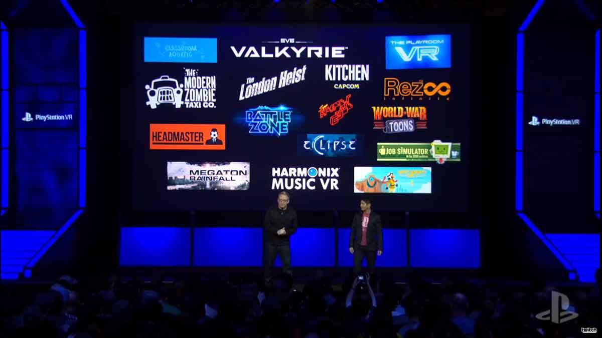 Playstation VR: Viele neue Spiele