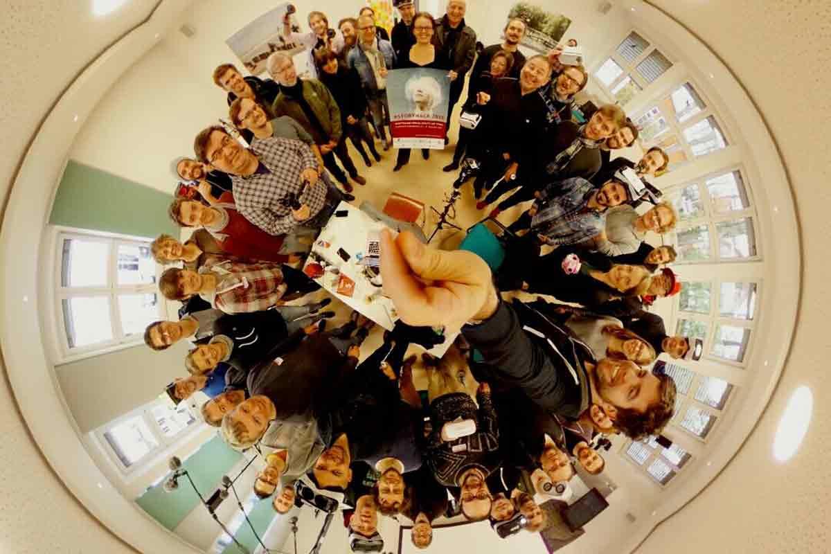 Der erste Hackathon für immersive 360-Filme fand Ende November in München statt.