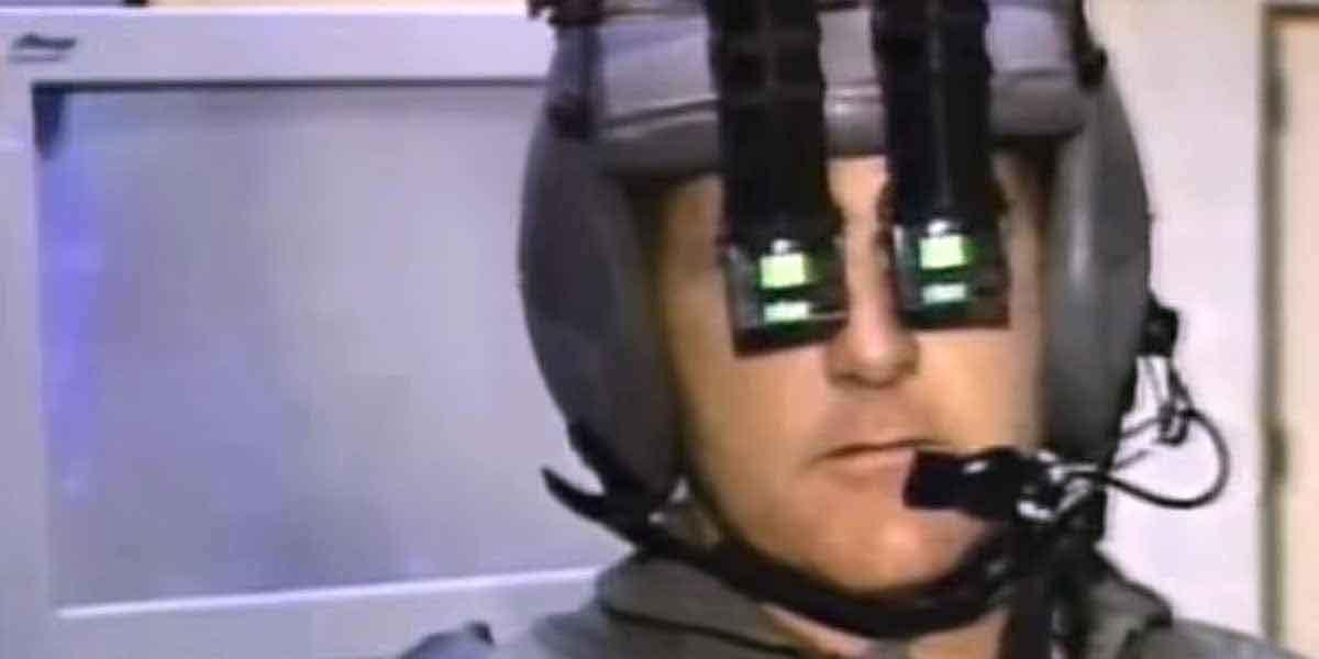 Nicht nur in der Fernsehserie Nightline hatte man 93 große Erwartungen an Virtual Reality.