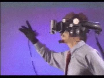 Auch Handtracking für Virtual Reality war bereits 1993 ein Thema.