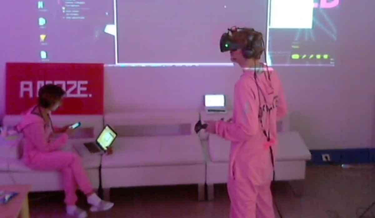 48h Stunden am Stück in Virtual Reality, ohne Schlaf - geht das gut?