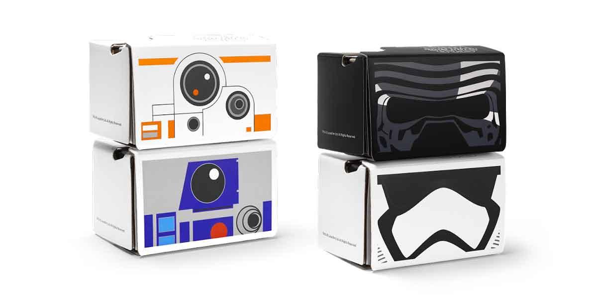 25 Star Wars Fan Cardboards gibt es zu gewinnen.