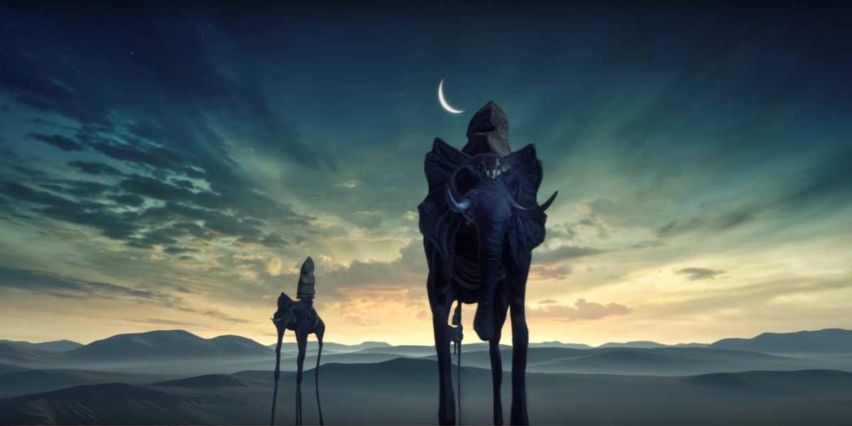 Ein Gemälde von Dali wird als VR-Experience erlebbar.