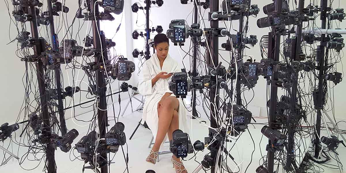 Das Virtual-Reality-Startup Holodexxx scannt Pornodarsteller für VR.