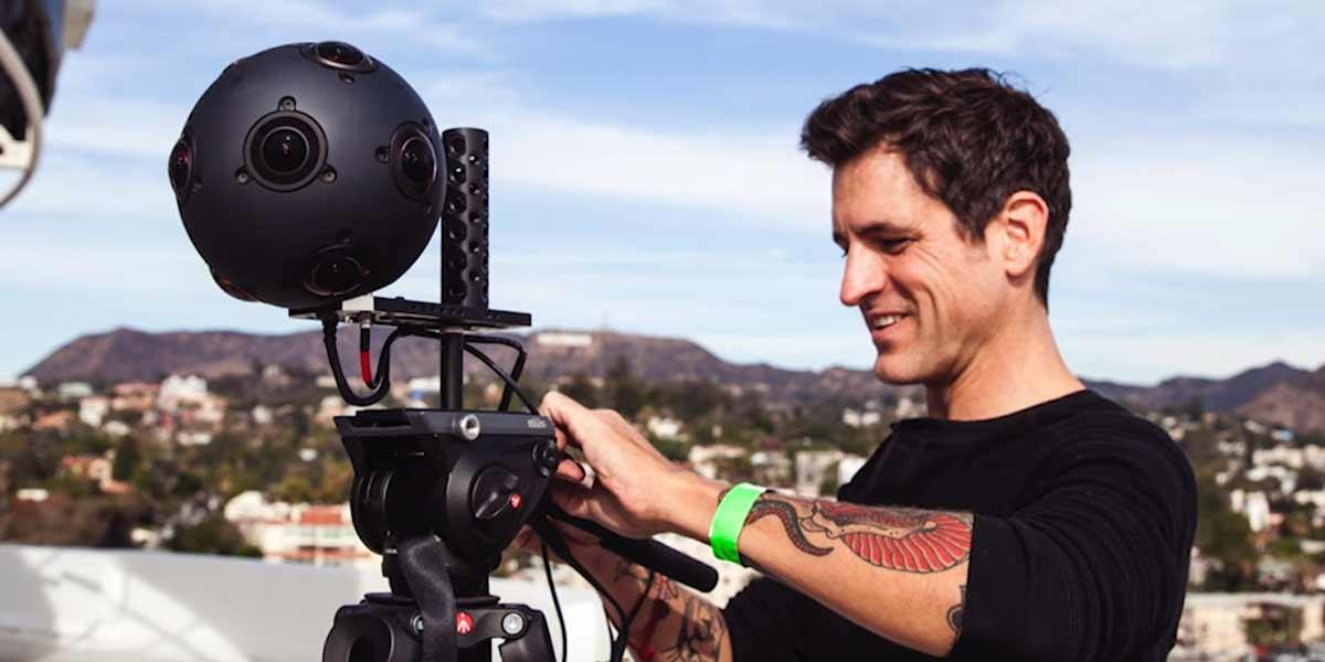 Auf dem Sundance Film Festival erklärte Ramzi Haidamus von Nokia, warum das Unternehmen mit Ozo in den VR-Markt eingestiegen ist.