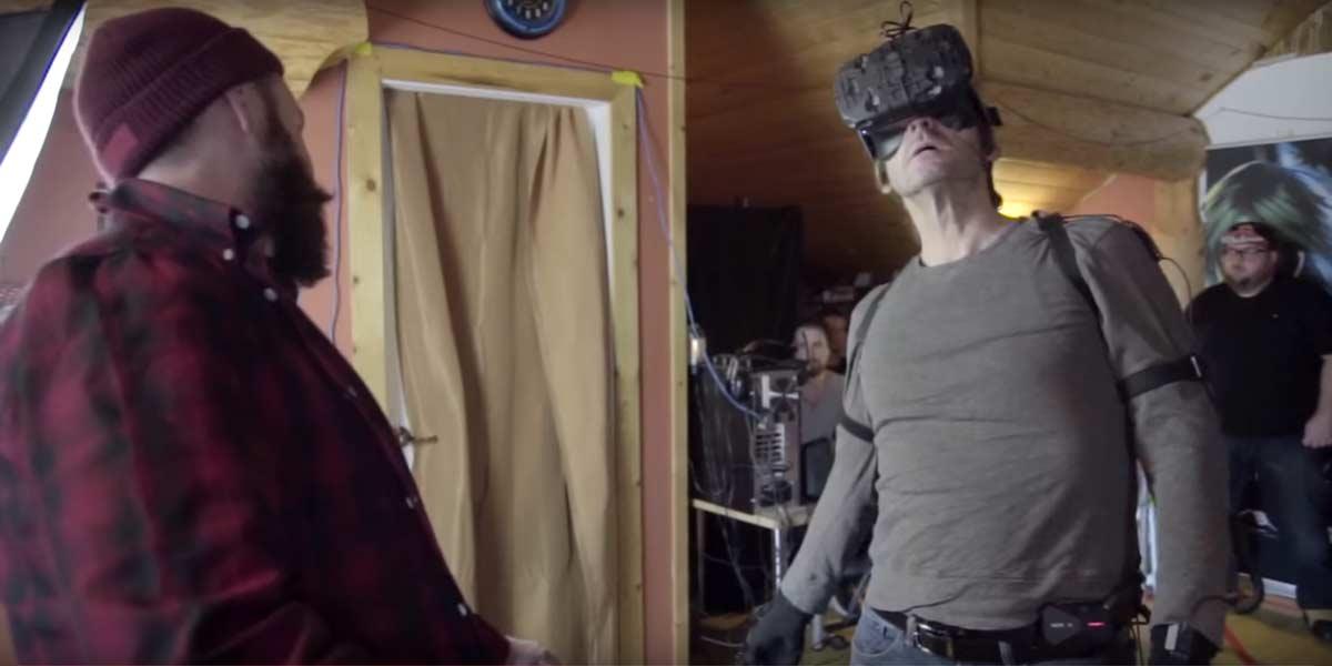 Neues Verfahren beim Motion Capturing: Mit VR-Brille direkt in Virtual Reality.