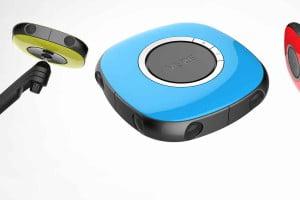 Optisch macht Vuze was her und ist sehr portabel. Bild: Humaneyes Technologies