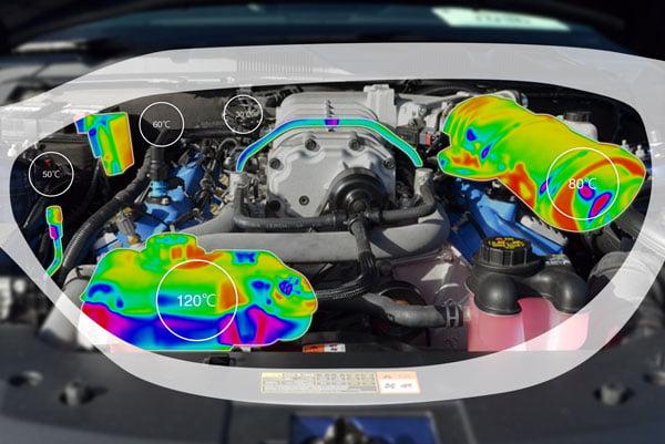 Geplant sind Infrarotsensoren, die es dem Nutzer erlauben Wärmebilder der realen Umgebung zu sehen.