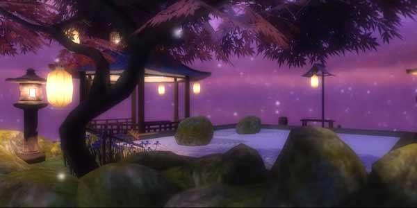 Steine rücken oder Sand rechen: Der Zen Garten soll zur Gelassenheit einladen.