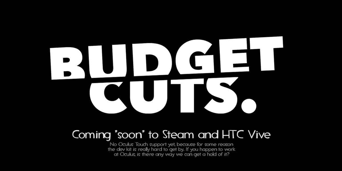 Budget Cuts für HTC Vive im Tested Hands on