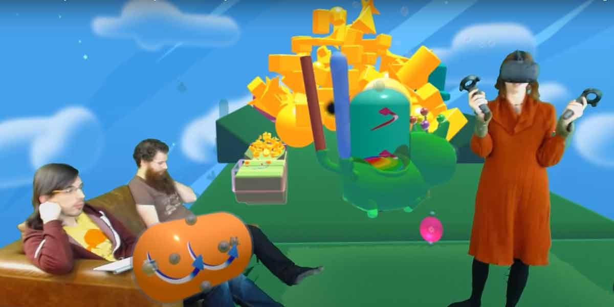 Wie sehen Let's Plays aus, wenn Virtual Reality der neue Spielestandard wird?