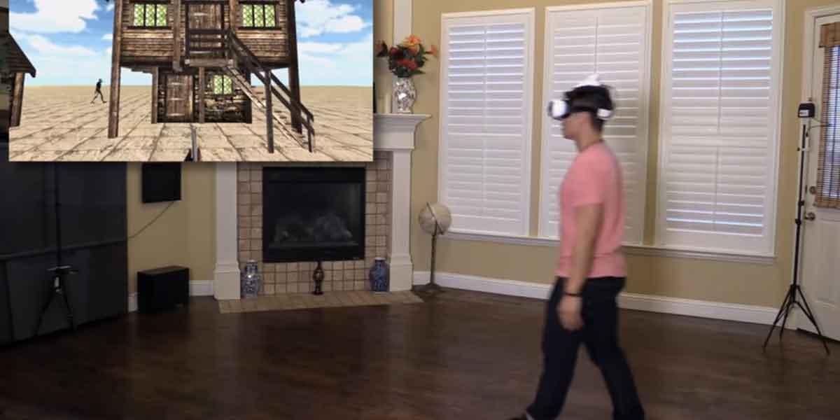 IndoTraq entwickelt eine Raumtracking-Lösung für mobile VR-Brillen