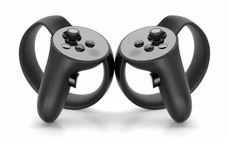 Oculus VR zeigt neue Bilder des Touch-Controllers für Oculus Rift.