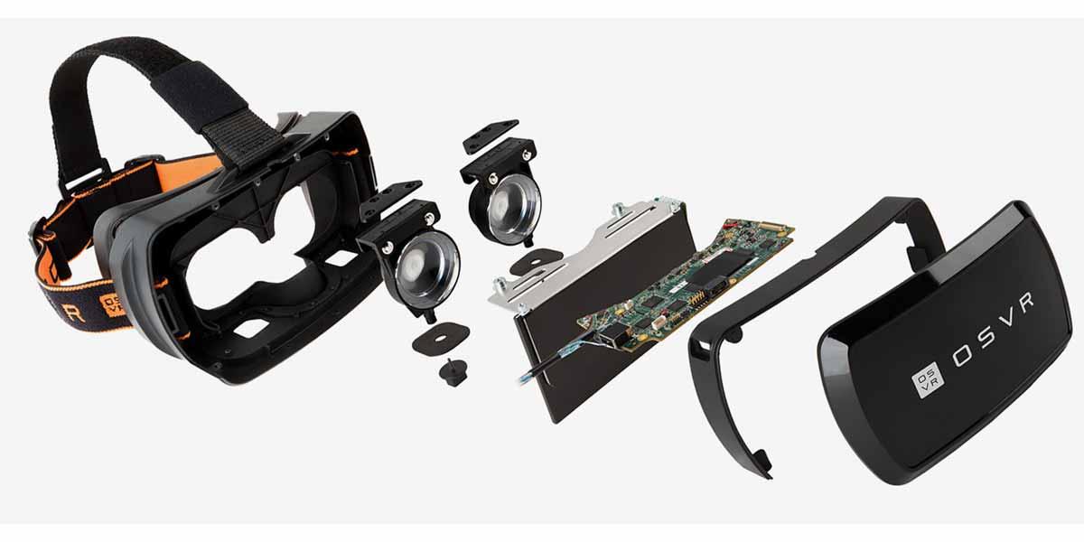 Razers Open-Source-VR-Brille: Konkurrenz für Oculus Rift?